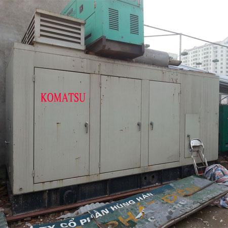 Máy Phát Điện Komatsu 25kva